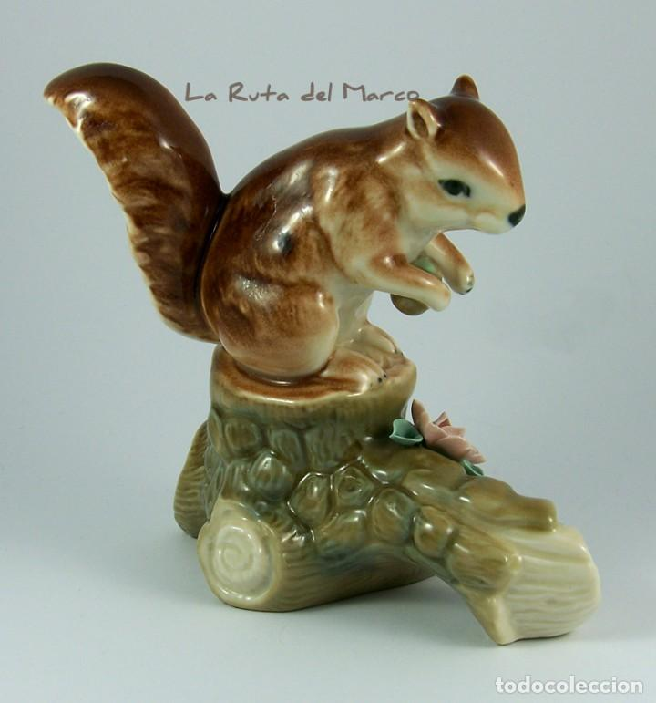 Vintage: Ardilla - Figura de porcelana - Foto 4 - 161989898