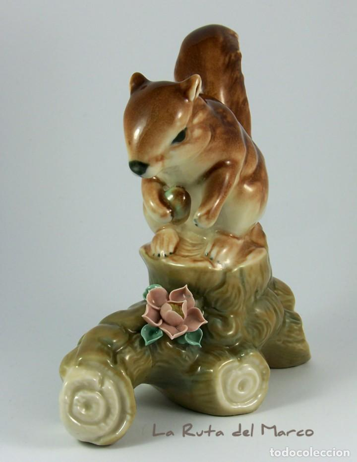 Vintage: Ardilla - Figura de porcelana - Foto 5 - 161989898
