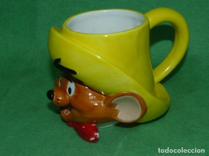 Vintage: ESCASA TAZA SPEEDY GONZALES APPLAUSE INC WARNER BROS 1994 CERAMICA ORIGINAL - Foto 2 - 162420550