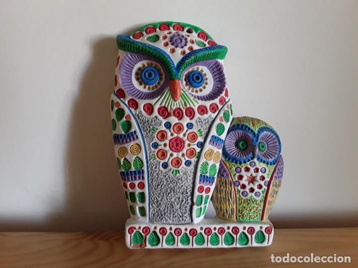 BUHO CERÁMICA (Vintage - Decoración - Porcelanas y Cerámicas)
