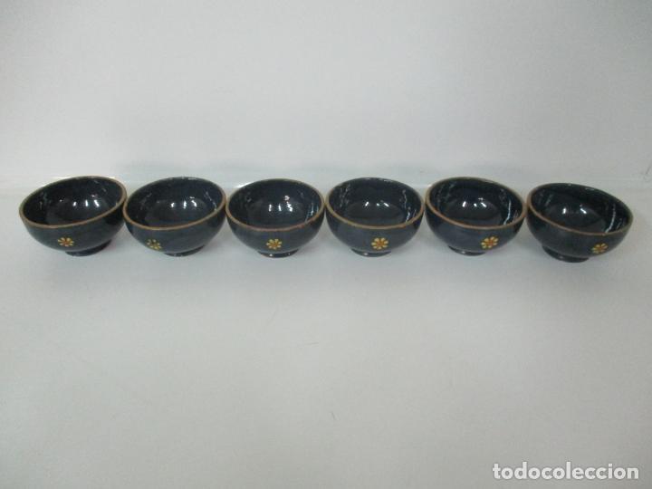 Vintage: 6 Bonitos Cuencos - Cuenco de Cerámica, Policromada - Vintage - Foto 3 - 162545974