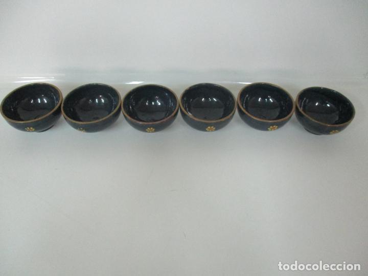 Vintage: 6 Bonitos Cuencos - Cuenco de Cerámica, Policromada - Vintage - Foto 4 - 162545974