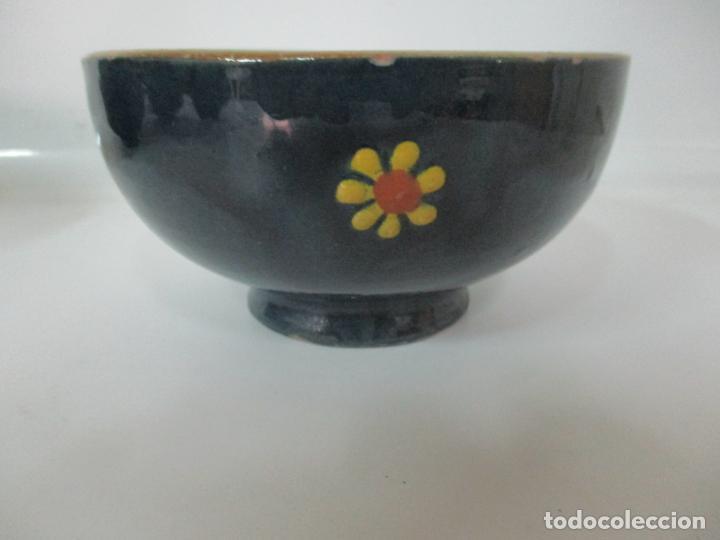Vintage: 6 Bonitos Cuencos - Cuenco de Cerámica, Policromada - Vintage - Foto 5 - 162545974
