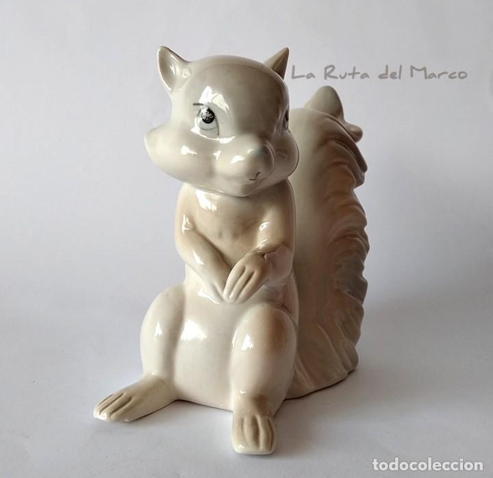 Vintage: E. Miguel - Ardilla - Figura de porcelana - Foto 2 - 163037326