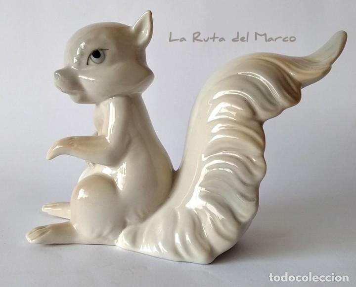 Vintage: E. Miguel - Ardilla - Figura de porcelana - Foto 4 - 163037326