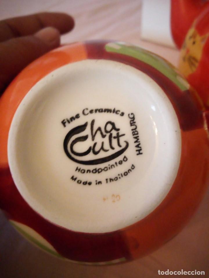 Vintage: Bonito juego de té para uno tetera taza y plato.cha cutt - Foto 6 - 163307930