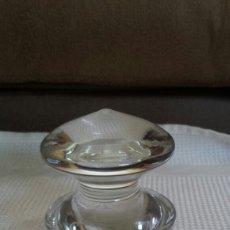 Vintage: GRAN TAPÓN DE CRISTAL. Lote 163352109