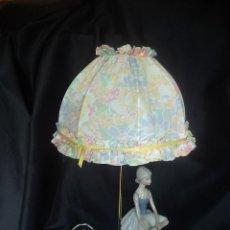 Vintage: LAMPARA AÑOS 50 PERFECTO ESTADO PORCELANA. Lote 163478674