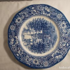 Vintage: PLATO - FIRMA SELLO STAFFORDSHIRE - INDEPENDENCE HALL. Lote 163950694