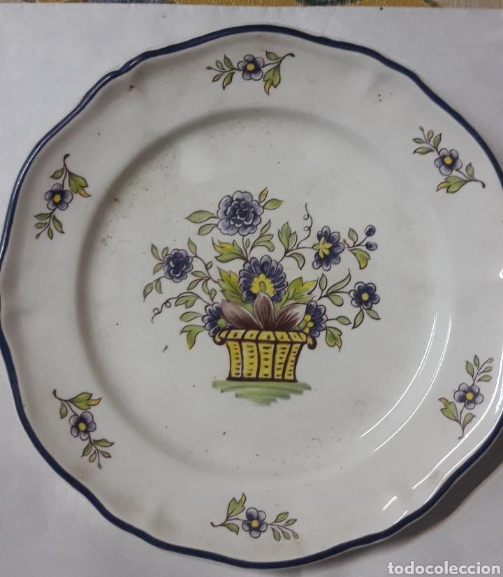 PLATO FRANCIA (Vintage - Decoración - Porcelanas y Cerámicas)