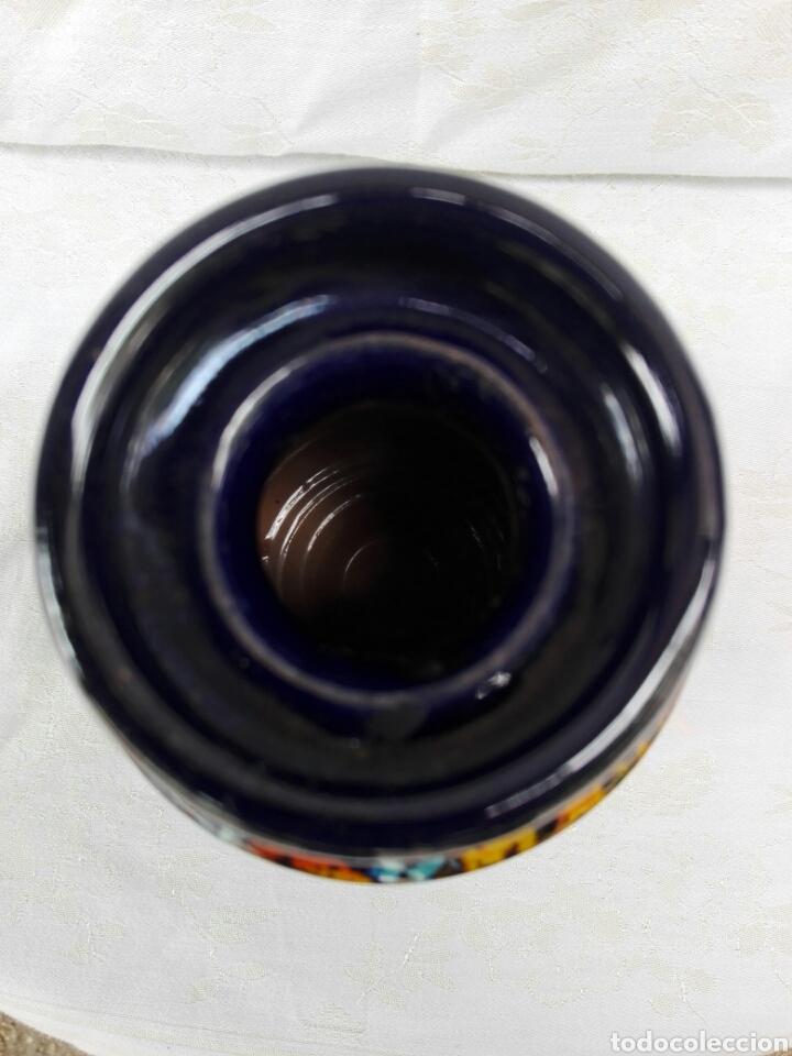 Vintage: Jarrón mid century cerámica efecto lava Vallauris? - Foto 6 - 165735108