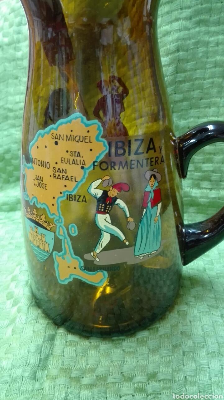 Vintage: Jarra vintage ámbar de Ibiza - Foto 3 - 166464993
