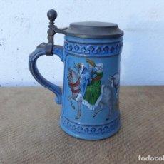 Vintage: JARRA DE CERAMICA. Lote 166501438