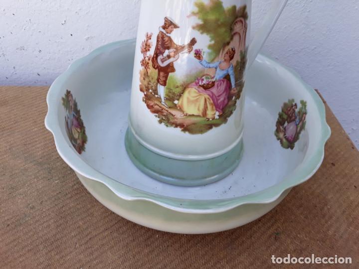 Vintage: jarra y palangana porcelana - Foto 2 - 166507198