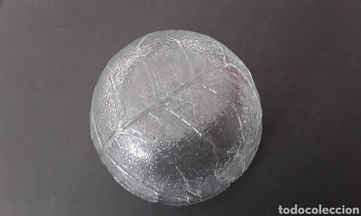 Vintage: Cuenco de cristal, hoja - Foto 2 - 166825321