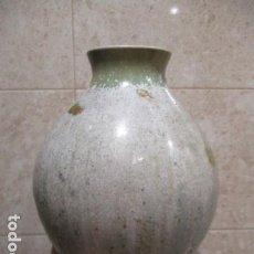 Vintage: JARRON DE CERAMICA VIDRIADA, CASES MADE IN SPAIN. 26 CM DE ALTO. Lote 167060668