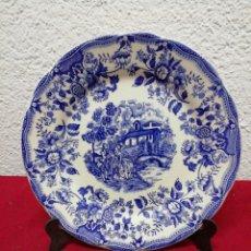 Vintage: PLATO DE CERÁMICA IRONSTONE TABLEWARE UNDERGLAZE.. Lote 167263474