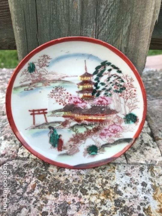 PLATITO, JAPONES (Vintage - Decoración - Porcelanas y Cerámicas)