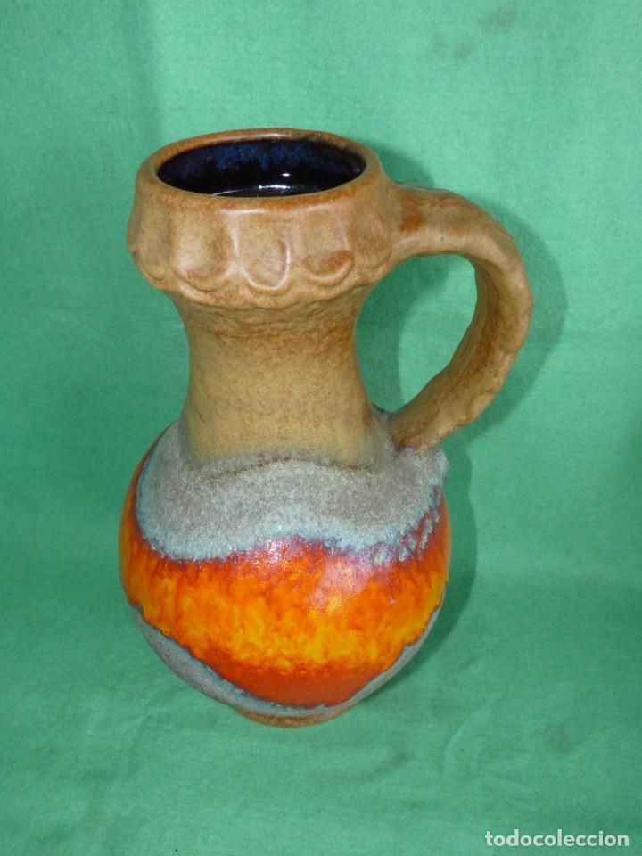 Vintage: Impresionante jarrón Fat Lava Dümler & Breiden keramik cerámica vintage Germany 1006/30 años 60 - Foto 2 - 167526612