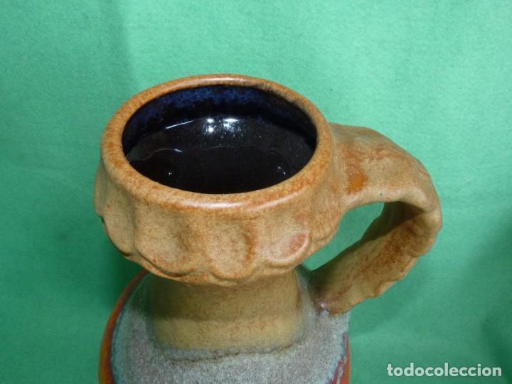 Vintage: Impresionante jarrón Fat Lava Dümler & Breiden keramik cerámica vintage Germany 1006/30 años 60 - Foto 3 - 167526612