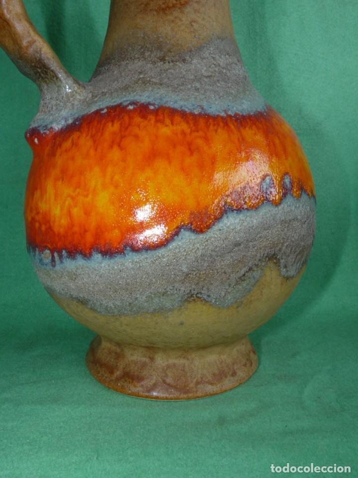 Vintage: Impresionante jarrón Fat Lava Dümler & Breiden keramik cerámica vintage Germany 1006/30 años 60 - Foto 5 - 167526612