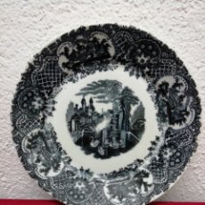 Vintage: PLATO DE PORCELANA. DIÁMETRO 23CM.. Lote 167670869