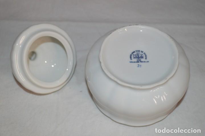 Vintage: Azucarero en porcelana fina de Bohemia. romanjuguetesymas. - Foto 5 - 167803648