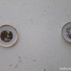 Vintage: 2 PLATOS PEQUEÑOS. Lote 168818540