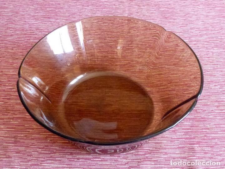 Vintage: Duralex ondas - Fuente y 6 platos. - Foto 5 - 168978532