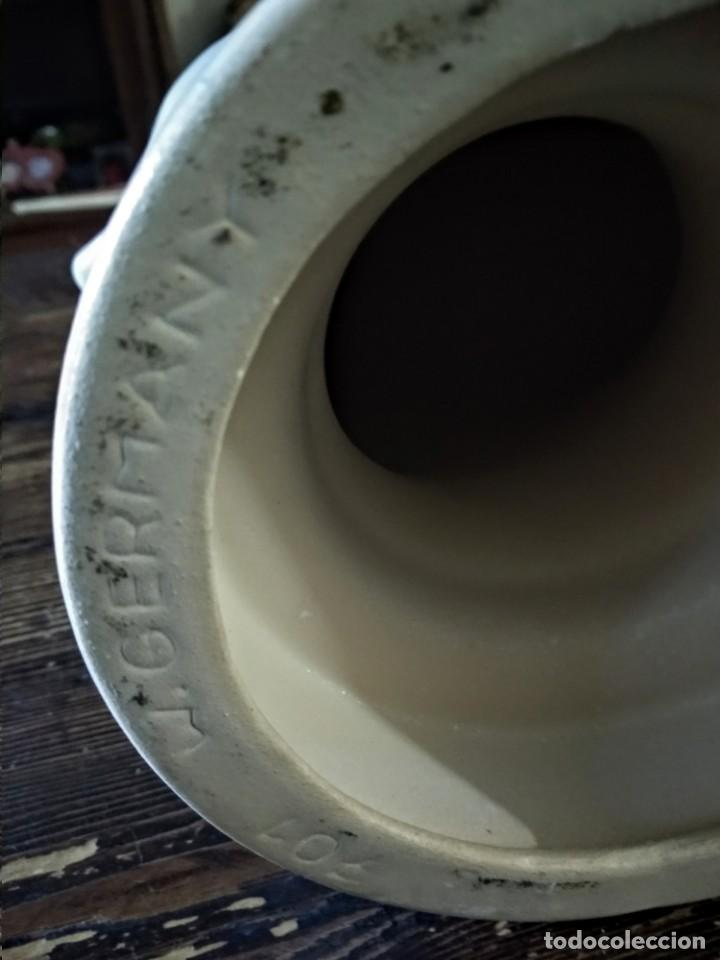 Vintage: cabeza de cerámica alemana: Escaparatismo, decoración vintage - Foto 4 - 168994976
