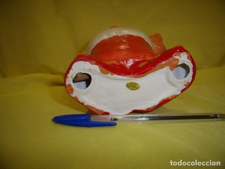 Vintage: Cocinero porta cubiertos, cerámica policromada, años 60, Nuevo en su caja original. - Foto 5 - 169377536