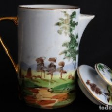 Vintage: TETERA O LECHERA VINTAGE DE PORCELANA FRANCIA LIMOGES. Lote 169566569