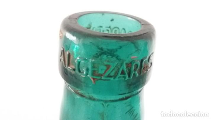 Vintage: 2 Antiguas botellas garrafa damajuana marca EL PALMAR ALGEZARES BERNAL BARCELO MURCIA de 16 litros - Foto 4 - 169718508