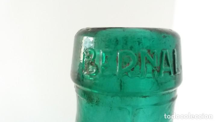 Vintage: 2 Antiguas botellas garrafa damajuana marca EL PALMAR ALGEZARES BERNAL BARCELO MURCIA de 16 litros - Foto 5 - 169718508