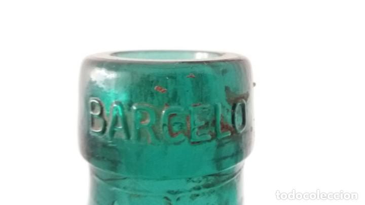 Vintage: 2 Antiguas botellas garrafa damajuana marca EL PALMAR ALGEZARES BERNAL BARCELO MURCIA de 16 litros - Foto 6 - 169718508