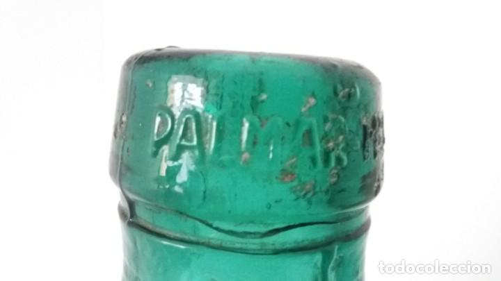 Vintage: 2 Antiguas botellas garrafa damajuana marca EL PALMAR ALGEZARES BERNAL BARCELO MURCIA de 16 litros - Foto 3 - 169718508