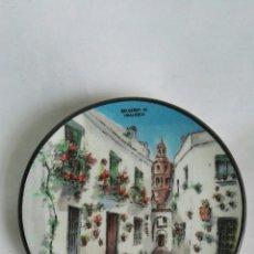 Vintage: PLATO CERAMICA DE MANISES RECUERDO DE MALLORCA 12CM. Lote 169963137