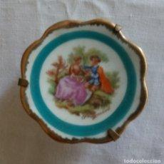 Vintage: PLATO LIMOGES - FRANCIA - 4 CMS. Lote 170061124