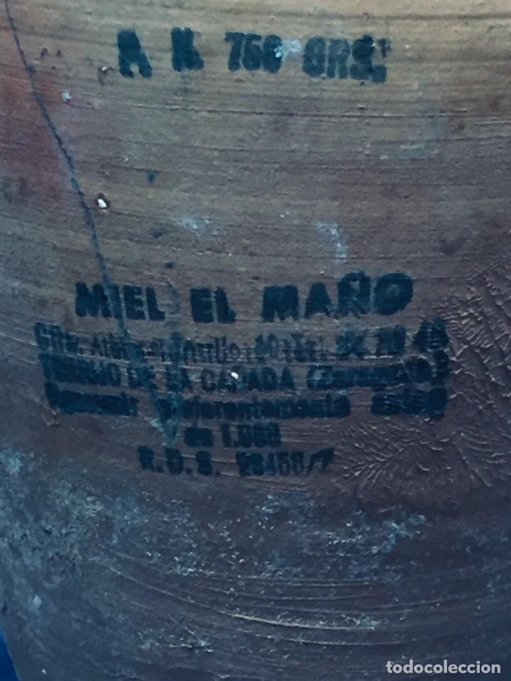 Vintage: antigua mielera miel el maño rdo de canfranc barro cocido zaragoza 1988 17 cm - Foto 9 - 236333960