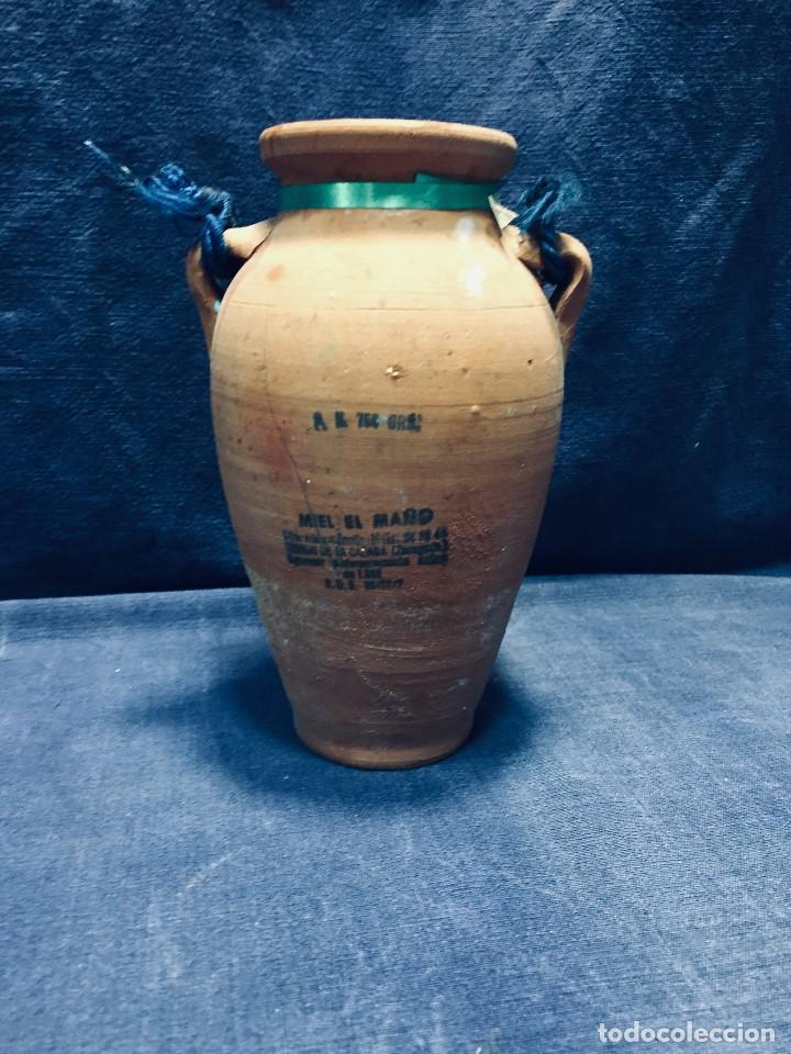 Vintage: antigua mielera miel el maño rdo de canfranc barro cocido zaragoza 1988 17 cm - Foto 10 - 236333960