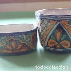 Vintage: MACETEROS DE PORCELANA . Lote 171141485