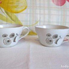 Vintage: 2 TAZAS CAFE PORZELANIT-VINTAGE. Lote 171196168