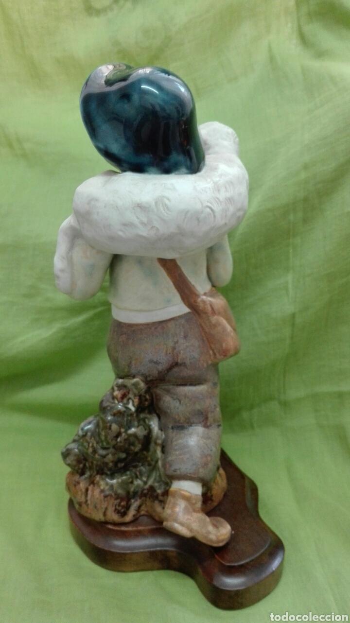 Vintage: Figura de cerámica mate - Foto 3 - 172087762