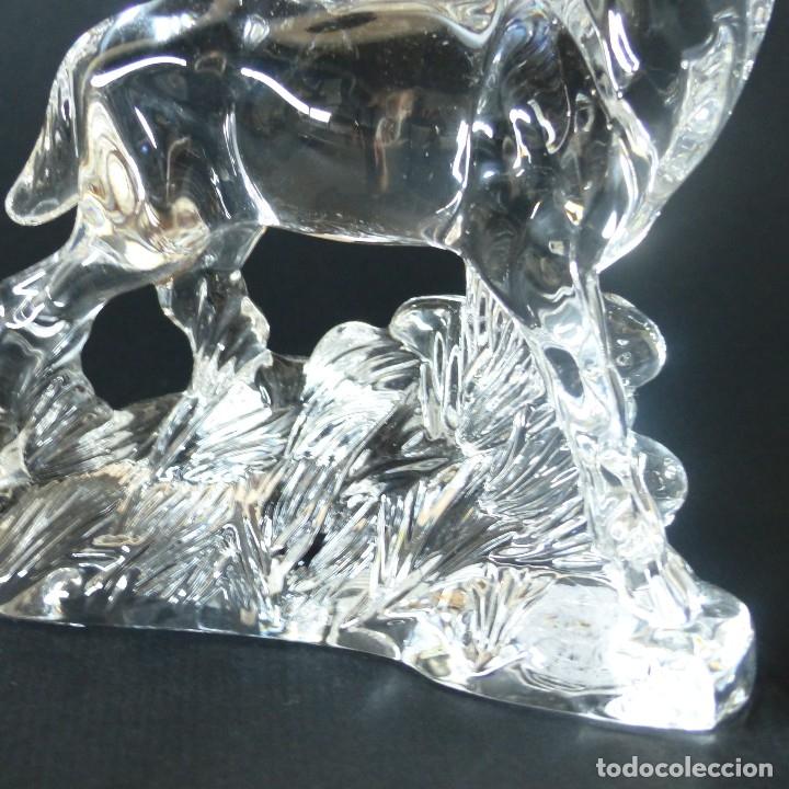 Vintage: Vintage. Ciervo de cristal de Nachtmann. 17 cm ! - Foto 3 - 172239359
