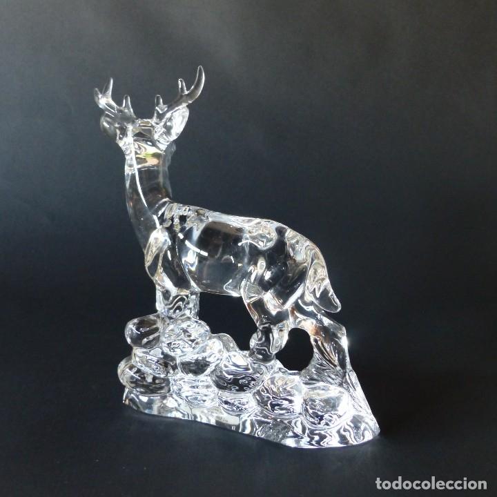Vintage: Vintage. Ciervo de cristal de Nachtmann. 17 cm ! - Foto 5 - 172239359