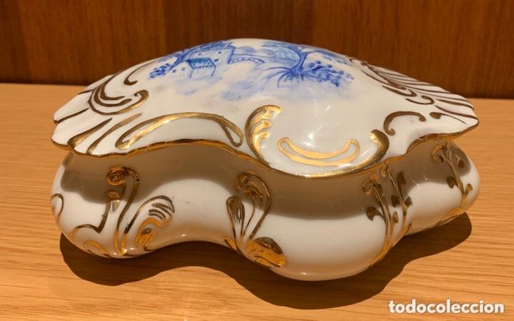JOYERO DE PORCELANA (Vintage - Decoración - Porcelanas y Cerámicas)