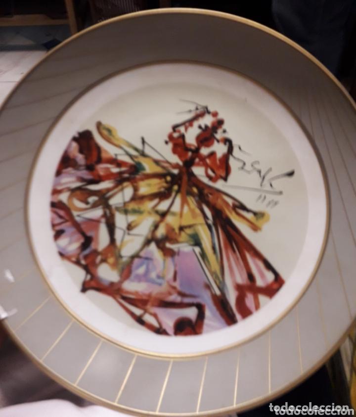 PLATO DE DALI (Vintage - Decoración - Porcelanas y Cerámicas)