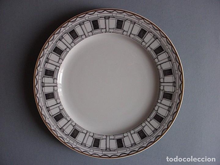 FORNASETTI MILANO ROSENTHAL PLATO PORCELANA 26 CM, NUEVO (Vintage - Decoración - Porcelanas y Cerámicas)