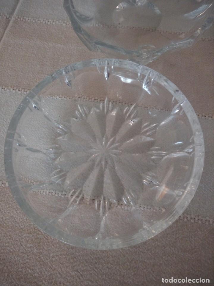 Vintage: Lote de 6 cuencos para aperitivos de cristal hay uno diferente. - Foto 4 - 174528358