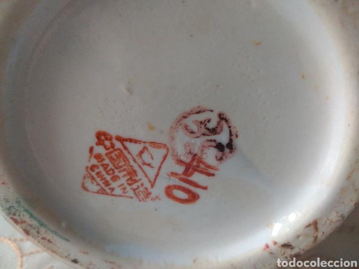 Vintage: JARRÓN PORCELANA ( CHINA SELLO EN LA BASE ). MÁS PORCELANAS EN MÍ PERFIL - Foto 2 - 166716300